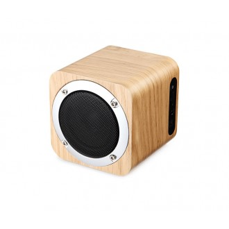 Haut-parleur Bluetooth en bois