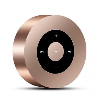 Haut parleur Bluetooth tactile - Or