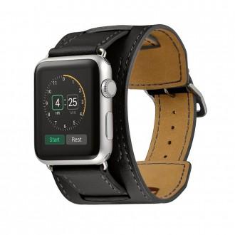 Bracelet en cuir vŽritable pour Apple...