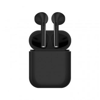 Ecouteurs binaural Bluetooth 5.0 - Noir
