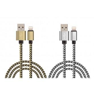 Lot de 2 cables de charge et de...