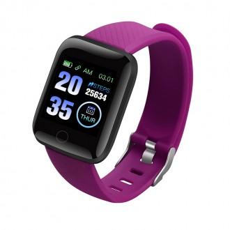 Montre connectŽée Bluetooth - Violet